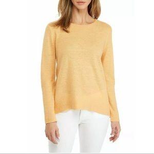 Eileen Fisher 100% Organic Linen Light Knit Tunic